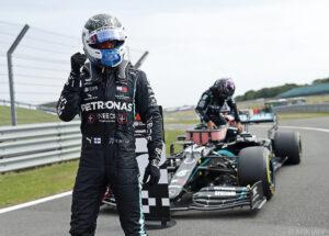Bottas schnappt Hamilton Silverstone-Pole weg