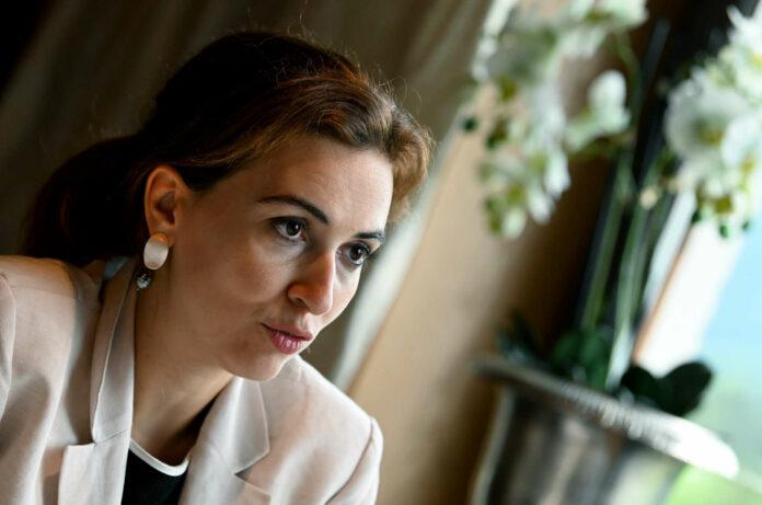 Justizministerin Alma Zadic (Grüne) beim APA-Gespräch im Rahmen des Forum Alpbach.