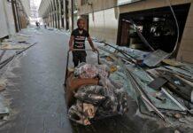 Das Ausmaß der Zerstörungen in Beirut ist auch für Bilal Zayat (kl. Foto) kaum vorstellbar.