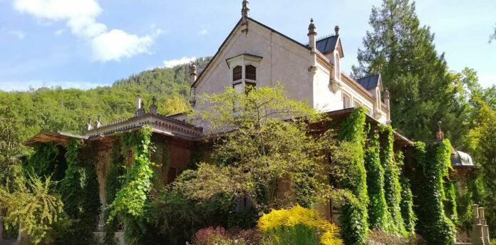 Das Marmorschlössl wurde zwischen 1856 und 1861 aus Untersberger Marmor erbaut. Dorthin zog sich die Kaiserin zurück.