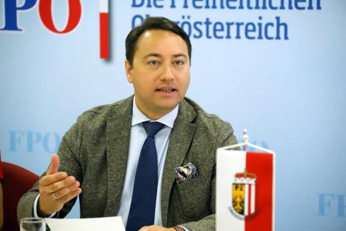 FPÖ-Landeschef Manfred Haimbuchner