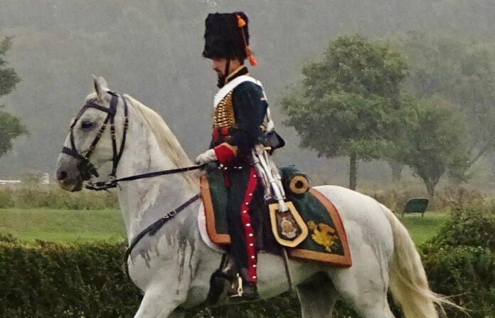 Kaiser Franz Joseph war selbst ein begeisterter Reiter. Seine Kavallerie war prächtig ausgestattet.