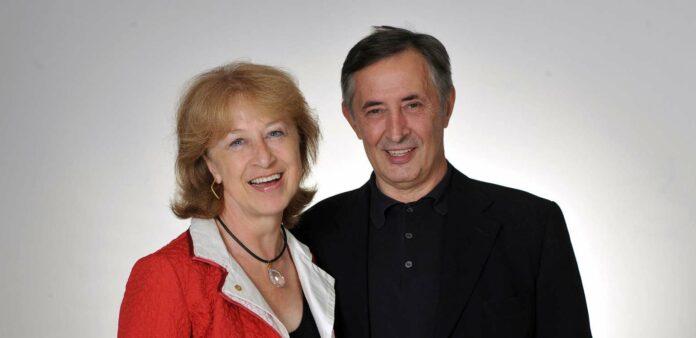 Das Kunsthändler-Ehepaar Irene und Josef Schütz