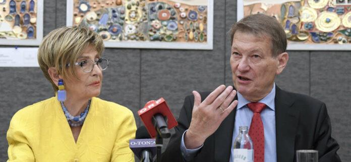 Für Ingrid Korosec (Seniorenbund) und Peter Kostelka (Pensionistenverband) ist klar: Es muss mehr als die gesetzlichen 1,5 Prozent Pensionsanpassung geben.