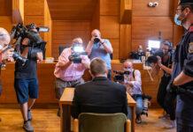 Der Angeklagte vor Prozessbeginn am Mittwoch im Landesgericht Innsbruck