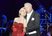 Glanzvolles Paar: Ildiko Raimondi und Herbert Lippert