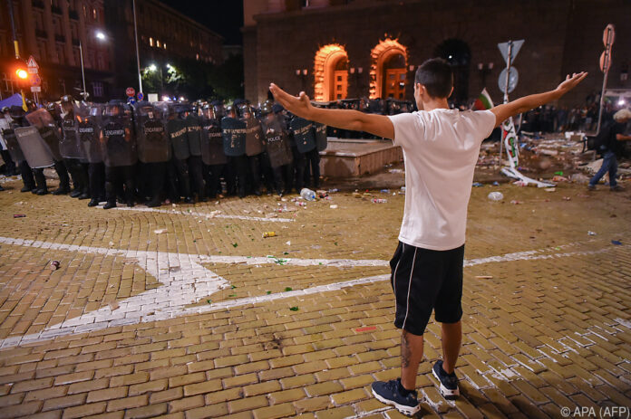 Bulgarien-Proteste: Polizei räumt Zeltblockaden in Sofia