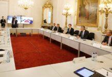 Die Regierungsspitze und die Landeshauptleute trafen sich gestern im Kanzleramt.