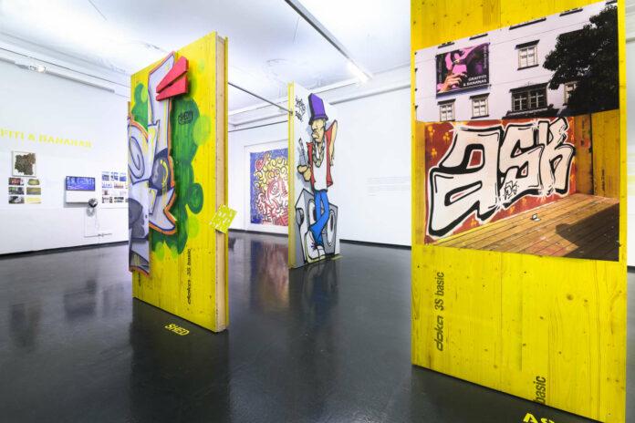 """Schön bunt: die Ausstellung """"Graffiti & Bananas. Die Kunst der Straße"""" im Nordico"""