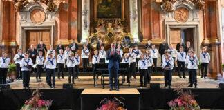 Treffen immer den richtigen Ton: die St. Florianer Sängerknaben.