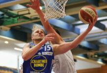 Neo-Center Daniel Dolenc soll für Gmunden unter dem Korb abräumen und für viele Punkte sorgen.