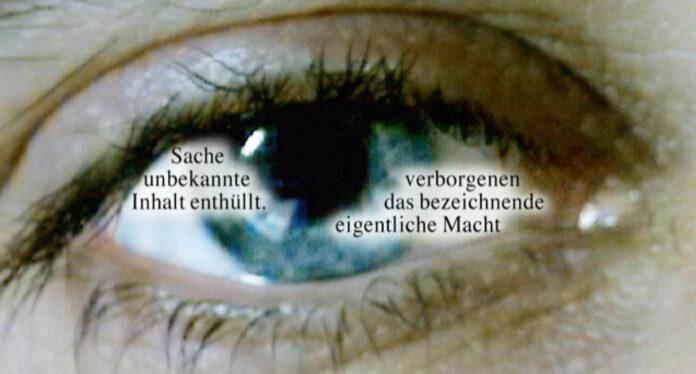 VALIE EXPORT: Der Blick des Blickes (Detail), 1992/2004/2020