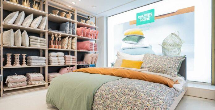 Neben den Dessous verkauft Palmers jetzt auch das Rundherum fürs Schlafzimmer.