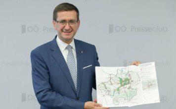 LR Markus Achleitner präsentierte am Mittwoch die Eckpunkte der Novelle zum OÖ. Raumordnungsgesetz.
