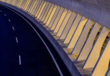 motorway s10 near freistadt, mhlviertel, upper austria, noi