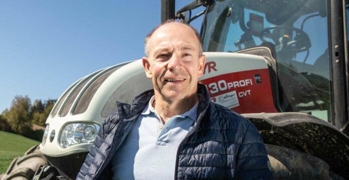 Vor zehn Jahren übernahm Max Hiegelsberger das Amt als Agrar-Landesrat von Josef Stockinger. Er blickt auf eine intensive Zeit zurück.
