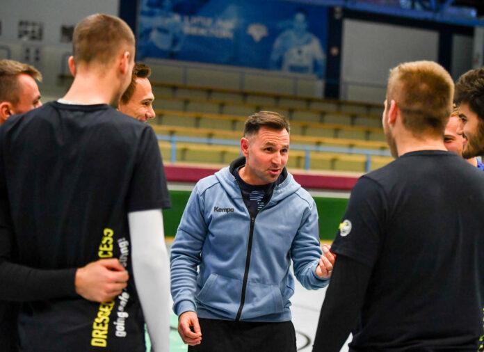 Klemens Kainmüller will seine Spieler mit Leidenschaft und Freude am Handball-Feld agieren sehen.