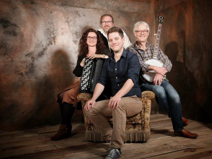 Am 24. Oktober spielt die Folkband Medley im Brucknerhaus auf.