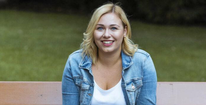 Sabine Hanger (25) wurde gestern zur ÖH-Vorsitzenden gewählt.