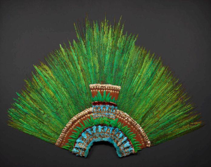 Quetzalfeder-Kopfschmuck