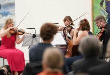 Das Atalante Quartett im Linzer Lentos
