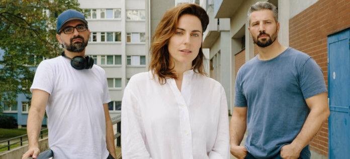 Mit Antje Traue und Murathan Muslu (r) hat Umut Dag auch in Linz gedreht.