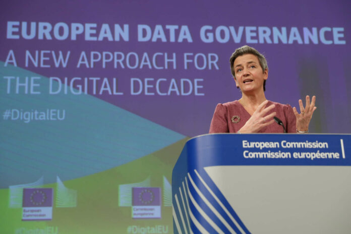Kommissarin Margret Vestager will das riesige Datenpotenzial der EU heben.