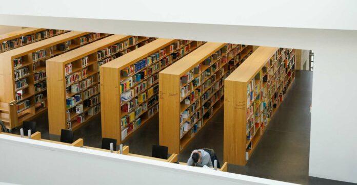 Die Landesbibliothek: ein entspannter Rückzugsort