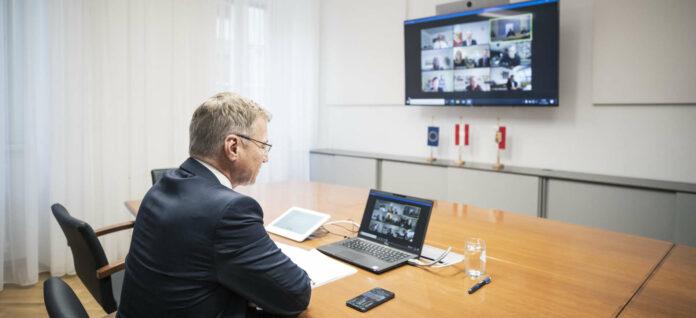 In einer Videokonferenz mit Landeshauptmann Thomas Stelzer erfolgte das erste Meeting der Vorbereitungsgruppe für die Neue Technische Universität in Oberösterreich.