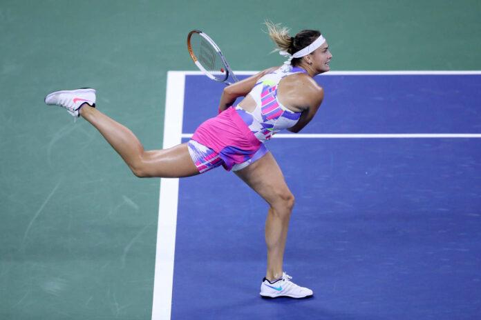 Für Aryna Sabalenka gibt es momentan am Tennisplatz nur ein Gas — nämlich Vollgas.