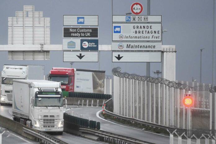 Trotz der Post-Brexit-Einigung wird es vermehrt Grenzkontrollen geben.