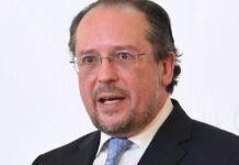 Außenminister Alexander Schallenberg fordert internationale Solidarität.