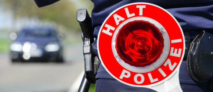 Blaulicht Polizei Blitzmarathon mit PKW