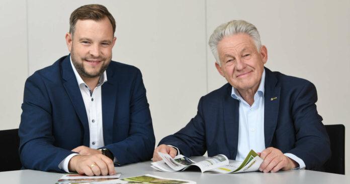 Oberösterreichs Seniorenbund-Landesobmann LH a. D. Josef Pühringer und Landesgeschäftsführer Franz Ebner (l.) erneuerten gestern ihre Forderungen für die Zukunft der Pflege.
