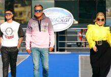 """Die Jury von """"Deutschland sucht den Superstar"""": (v.l.) Mike Singer, Dieter Bohlen und Maite Kelly — Michael Wendler sucht man (oder auch nicht) bei der Ausstrahlung auf RTL vergeblich."""