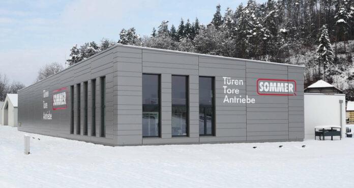 Das neue Firmengebäude der Sommer GesmbH in Walding.
