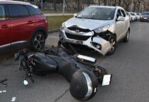 ++ HANDOUT ++ WIEN: MOTORRADFAHRERIN BEI UNFALL IN HIETZING