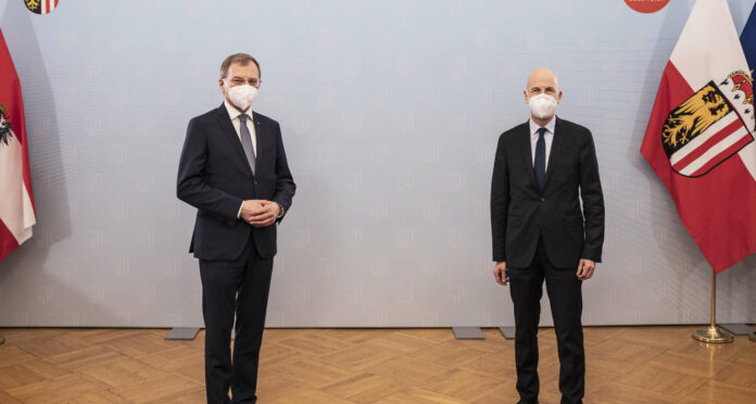 Am Mittwoch fand das erste offizielle Treffen in Linz zwischen Arbeitsminister Kocher und Landeshauptmann Stelzer statt.