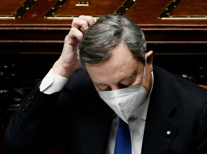 Italiens Premier Mario Draghi kann nach den beiden Abstimmungen mit seiner Arbeit beginnen – Disharmonie inbegriffen.