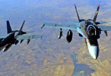 Erstmals flogen US-Bomber einen Einsatz unter dem Oberbefehl des neuen US-Präsidenten.