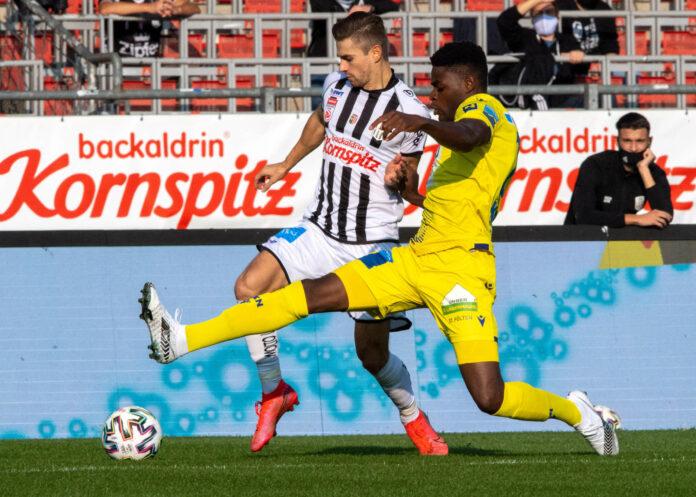 Andreas Gruber (l.) war einer von vier LASK-Torschützen beim überzeugenden 4:0 im Hinspiel.