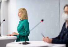 """LH-Stv. Christine Haberlander (l.) präsentierte gestern mit Projektbegleiterin Gerlinde Stöbich eine Zwischenbilanz nach drei Jahren Frauenstratgeie """"Frauen.Leben 2030""""."""
