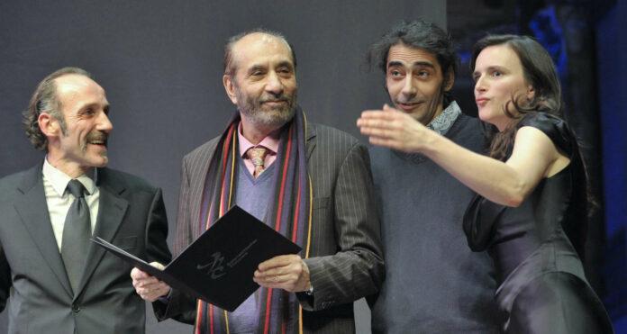 Hat auch mit80 noch viel vor: Psychiater undFilmemacherHouchang Allahyari.