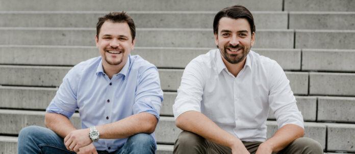 Die Gründer Peter Schatz (l.) und David Kemptner-Rauscher