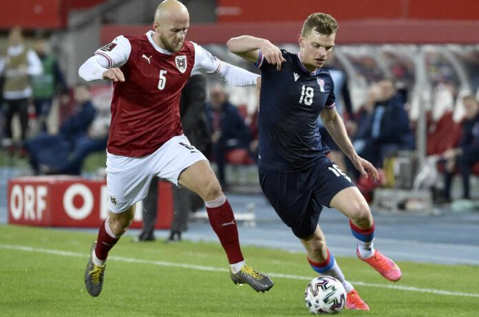 FUSSBALL UEFA WM-QUALIFIKATION STERREICH - FRER
