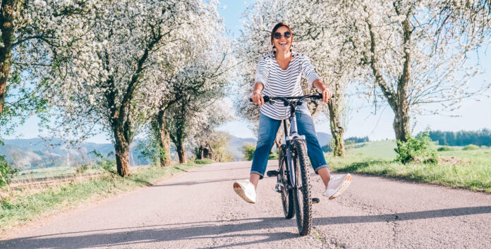 Das Rad wird zunehmend nicht nur für Ausflugsfahrten genützt.