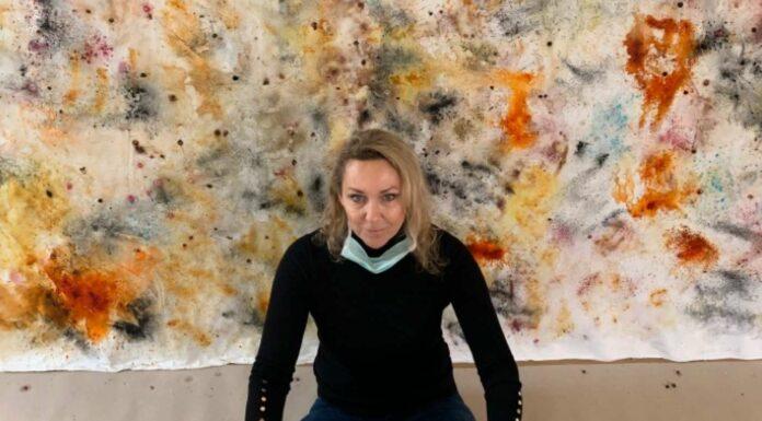 Künstlerin Monika Kus-Picco