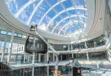 """Die """"Linzerie"""" soll demnächst in der Linzer Innenstadt für neue Impulse sorgen.Dieser Blick bietet sich, wenn man das Einkaufszentrum demnächst wieder von der Landstraße aus betreten kann."""