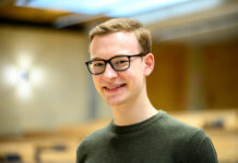 """""""Ein schnelles Studium musste auch in der Krise gewährleistet werden. Wir haben mit dem Rektorat und direktem Input der Studierenden die digitale Lehre an der JKU vorangetrieben"""", betont Mario Hofer, seit einem Jahr ÖH-Chef auf der Linzer JKU."""