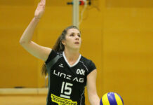 Kapitänin Nikolina Maros hat wie das gesamte Team der Steelvolleys den fünften Titel in Serie im Visier. Die Hürde Graz ist aber eine hohe.